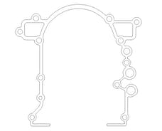 "Cometic Gasket C5698-031 .031"" Fiber Timing Cover Gasket. Each"