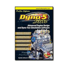 Competition Cams 181501 ProRacing Sim DynoSim5 Top Of The Line Engine Simulation