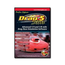 Competition Cams 181601 ProRacing Sim DragSim5 Top Of The Line Drag Racing Simulation