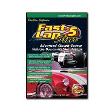 Competition Cams 181701 Software, Fast Lap SIM 5 FastLapSim5 Software