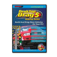 Competition Cams 186401 ProRacing Sim DeskTop Drag5 Drag Race Simulation
