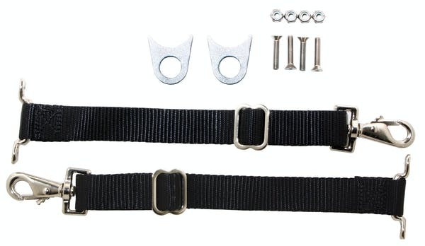 Competition Engineering C4931 Door Limiter Strap; Incl. 2 Straps; Hardware; Instructions;