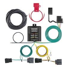 CURT 56333 Custom Wiring Harness (4-Way Flat Output)