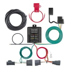 CURT 56334 Custom Wiring Harness (4-Way Flat Output)