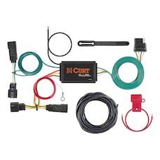 CURT 56363 Custom Wiring Harness (4-Way Flat Output)