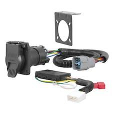 CURT 56366 Custom Wiring Connector (7-Way RV Blade Output)