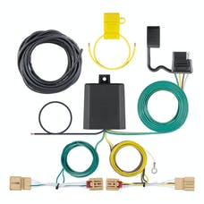 CURT 56403 Custom Wiring Harness (4-Way Flat Output)