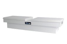 Dee Zee DZ8370S Tool Box, Hardware Crossover Double Lid White