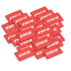 "Design Engineering, Inc. 010821 Hi-Temp Shrink Tube 12mm x 1.5"" - Red"