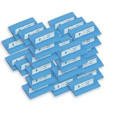 "Design Engineering, Inc. 010830 Hi-Temp Shrink Tube 18mm x 1.5"" - Blue"
