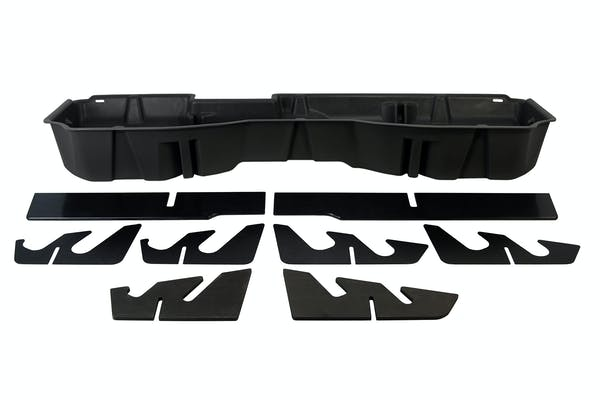 DU-HA 10300 Underseat Storage / Gun Case, Jet Black