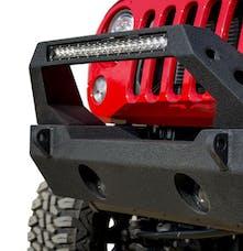 DV8 Offroad FBSHTB-25 Jeep JK/JL Front Bumper Fits 20 Inch Light Bar and Winch Plate 07-18 Jeep JK/JL