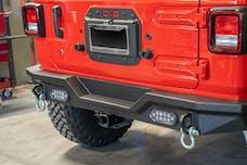 DV8 Offroad JLTS-01 Jeep JL Spare Tire Delete Kit 18-Present Wrangler JL