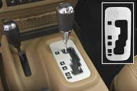 DV8 Offroad D-JP-1812004-AL Jeep Wrangler JK A/T SHIFT PLATE