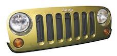 DV8 Offroad D-JP-190010-BK Jeep Wrangler JK MESH GRILLE BLACK
