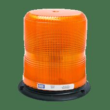 ECCO 6570C 6500 Series Medium-Profile Flashtube Strobe Beacon (3-Bolt Mount, Amber)