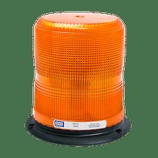 ECCO 6670A 6670 Series Medium-Profile Flashtube Strobe Beacon (3-Bolt Mount, Amber)