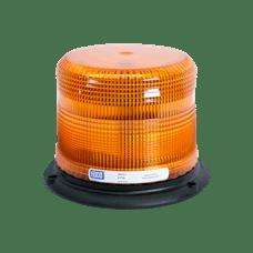ECCO 6710A 6710 Series Low-Profile Flashtube Strobe Beacon (3-Bolt Mount, Amber)