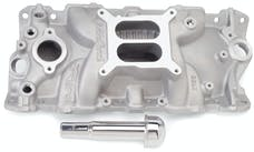 Edelbrock 2703 MANIFOLD, PERFORMER EPS SBC WITH OIL FILL TUBE & BREATHER