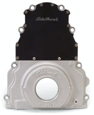Edelbrock 4254 TIMING COVER 1997-04 GM LS1/LS6 TWO PIECE