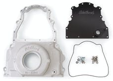 Edelbrock 4255 TIMING COVER 2004-07 GM LS2 TWO PIECE