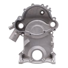 Edelbrock 4265 TIMING COVER, PONTIAC 1969-79 350-455
