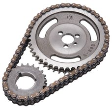 Edelbrock 7800 Performer-Link Adjustable True-Roller Timing Chain Set