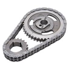 Edelbrock 7811 Performer-Link Adjustable True-Roller Timing Chain Set