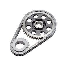 Edelbrock 7818 Performer-Link Adjustable True-Roller Timing Chain Set