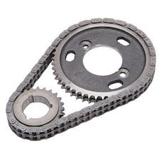 Edelbrock 7840 Performer-Link Adjustable True-Roller Timing Chain Set