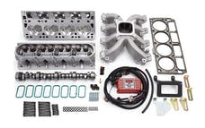 Edelbrock 2081 PWR PKG VICTOR JR LS1 TOP END KIT W/TIMING CONTROL MODULE