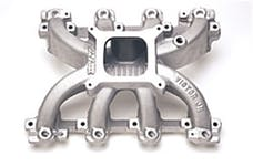 Edelbrock 29087 MANIFOLD, VICTOR JR GM LS1 FOR CARB'D APP'S (MANIFOLD ONLY)