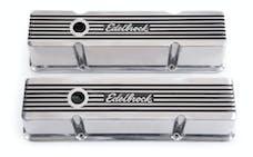 Edelbrock 4263 Elite II Valve Covers for Chevy 262-400 V8 1959-86.