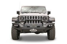 Fab Fours, Inc JL18-X4652-B Matrix Front Bumper with Pre-Runner, Bare