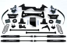 Fabtech K1005M 6in. PERF SYS W/STEALTH 88-98 GM K1500 PU 4WD/92-99 SUB/2DR B LZR/4DR TAHOE 4WD
