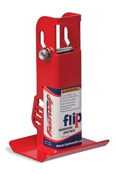 "Fastway 88-00-6500 6"" Flip Automatic Jack Foot - For 2.25"" Jack"
