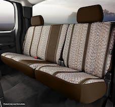 FIA TR42-34 BROWN TR Rear 40/60 Seat Cover