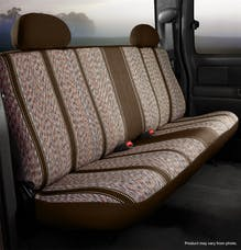 Fia TR42-58 BROWN TR Rear Bench Seat Cover