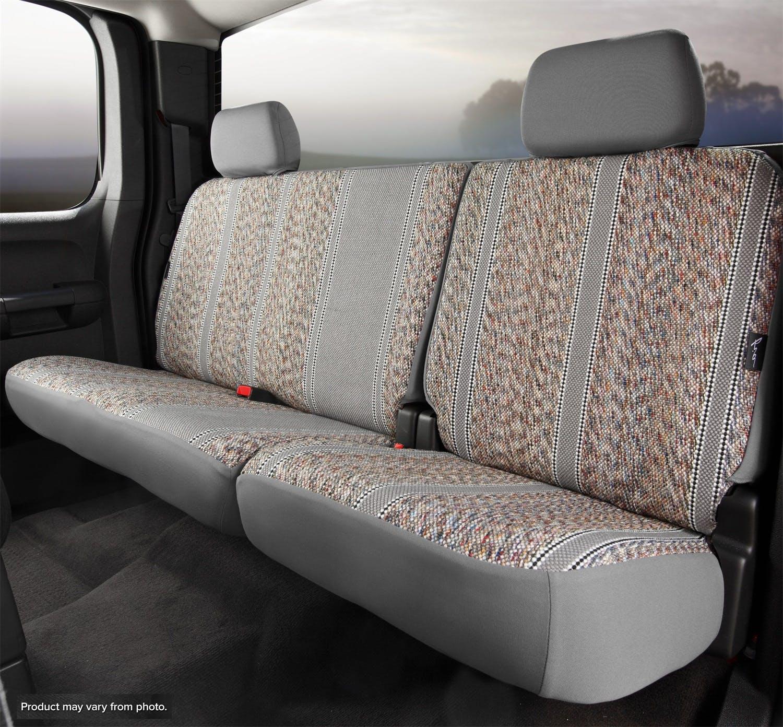 Brown Saddle Blanket, Fia TR42-38 Brown Custom Fit Rear Seat Cover Split Seat 60//40