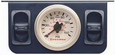 Firestone Ride-Rite 2260 Metal Dual Electric White Gauge