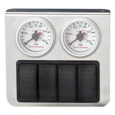 Firestone Ride-Rite 2298 Quad Electric White Gauge