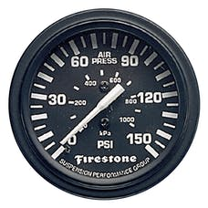 Firestone Ride-Rite 9084 Single Black Gauge Serv