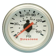Firestone Ride-Rite 9181 White Face Sng GA Only