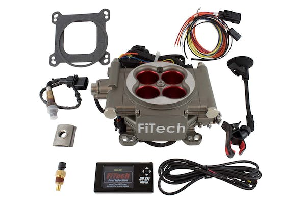 FiTech 30003 Go Street Series Throttle-Body EFI System Kit (Cast Finish, 400 HP)
