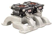 FiTech 30064 Go EFI Dual Quad Power Adder System Kit (Matte Black, 1200 HP)