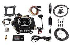 FiTech 31002 Go EFI 4 System Master Kit (Matte Black, 600 HP, Inline Fuel Pump)