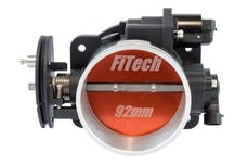 FiTech 70061 Loaded LS Throttle Body (Cast Aluminum, 92mm)