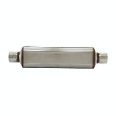Flowmaster 12418304 Super HP-2 Muffler 304S-2.25 Center In./2.25 Center Out-Moderate Sound