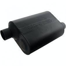 Flowmaster 952548 Super 40 Muffler-2.50 Offset In/2.50 Offset Out-Aggressive Sound