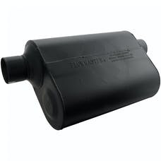 Flowmaster 952549 Super 40 Muffler-2.50 Offset In/2.50 Same Side Out-Aggressive Sound